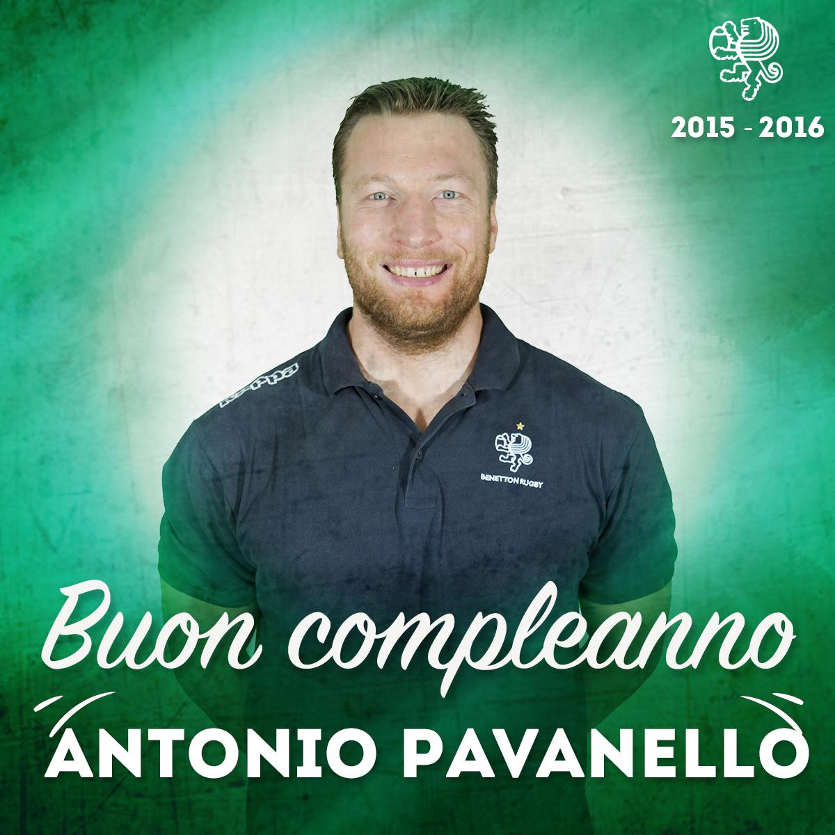 BUON COMPLEANNO AL NOSTRO DIRETTORE SPORTIVO ANTONIO PAVANELLO E AL NOSTRO FORWARD COACH MARTIN FIELD-DODGSON!